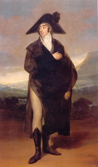 Duque de Fernán Núñez, por Francisco de Goya
