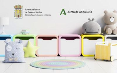 Inscripciones Escuela Infantil «Duque de Fernán Núñez» Curso 2020-2021