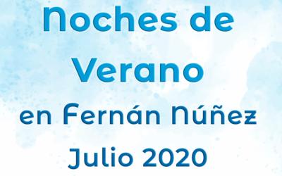 Noches de Verano en Fernán Núñez 2020