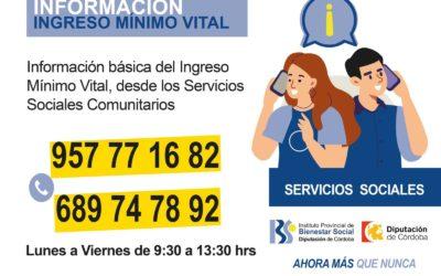 Servicio de información del IPBS sobre el Ingreso Mínimo Vital