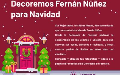 Decoremos Fernán Núñez para Navidad