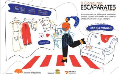 Bases del «II Concurso de Escaparates de Navidad» y Bases de «Rasca y Gana de Navidad»