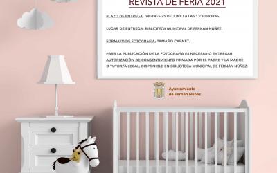 Fotografías de niñas y niños para Revista de Feria 2021