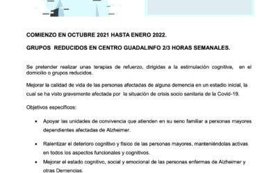 """Servicio de estimulación cognitiva a personas mayores """"SEDA"""""""