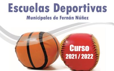 Escuelas Deportivas 2021